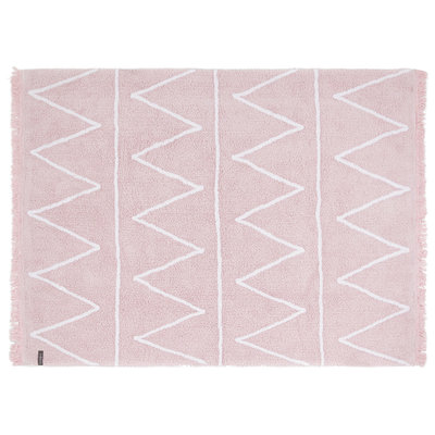 Lorena Canals hippy cotton vloerkleed pink