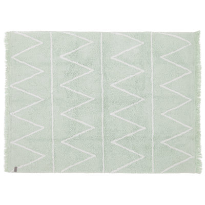Lorena Canals hippy cotton vloerkleed mint