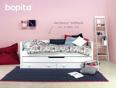 Bopita Narbonne bedbank + 3 laden unit 90x200