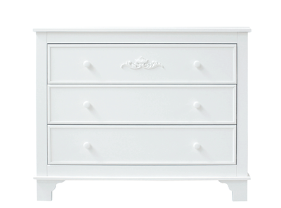 Bopita Romantic 3 laden commode wit