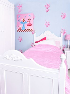 Bopita Romantic Tessa 90x200 bed wit