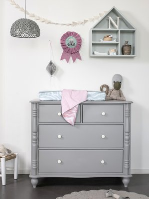 Coming kids pebbles 4 laden commode grey