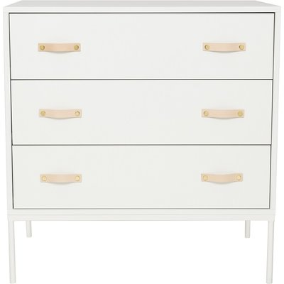 Coming kids Bliss 3 laden commode metaal-hout wit