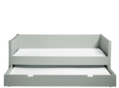 Bopita Stan pure grey bedbank 90x200