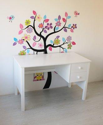 lilli furniture bureau Nanne met 2 laden wit