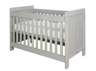 Bopita Basic wood baby ledikant 60x120 grenen naturel wash
