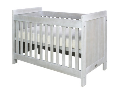 Bopita Basic wood baby ledikant 60x120 grenen blue wash
