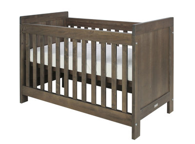 Bopita Basic wood baby ledikant 60x120 grenen brown wash