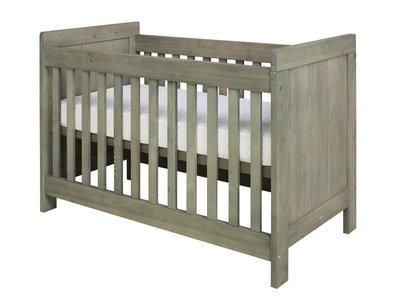 Bopita Basic wood baby ledikant 60x120 grenen stone wash