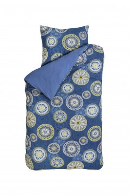 Bink bedding dekbedovertrek flower jeans