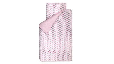 Bink bedding dekbedovertrek Flamingo roze