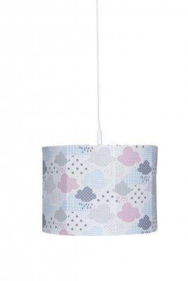 Bink hanglamp Cloudy roze