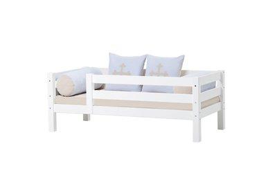 Hoppekids junior Basic sofabed met 3/4 uitval 70x160 grenen wit