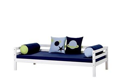 Hoppekids Basic sofabed met 3/4 uitval 90x200 grenen wit