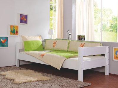 Relita Nik bedbank 90x200 beuken wit