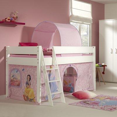 Relita Kim Disney Princess halfhoogslaper 90x200 beuken wit