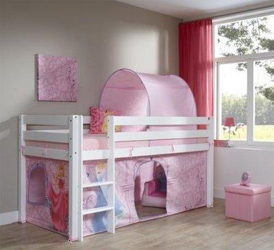 Relita Alex Disney Princess halfhoogslaper 90x200 beuken wit