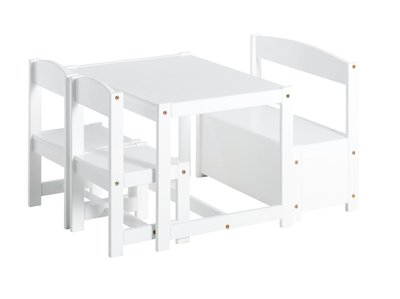 Hoppekids Mathilde speeltafel set wit