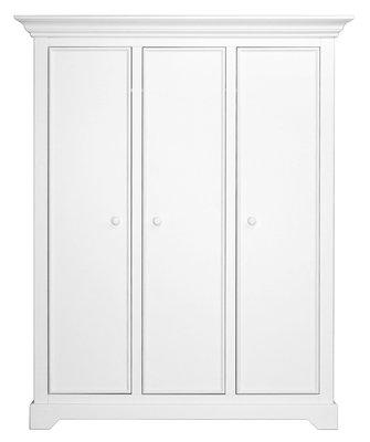 Bopita Victoria 3 deurs kleding kast wit