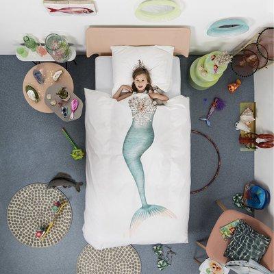 Snurk dekbedovertrek 1-persoons 140x200 mermaid