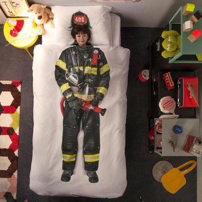 Snurk dekbedovertrek 1-persoons 140x200  Firefighter