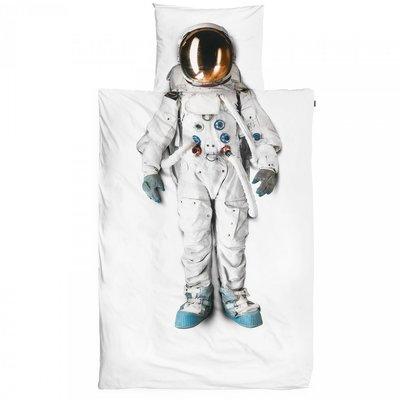 Snurk  dekbedovertrek 1-persoons 140x200 Astronaut