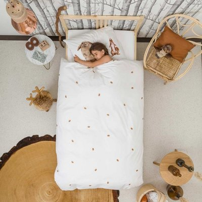 Snurk Furry Friends dekbedovertrek junior 120x150