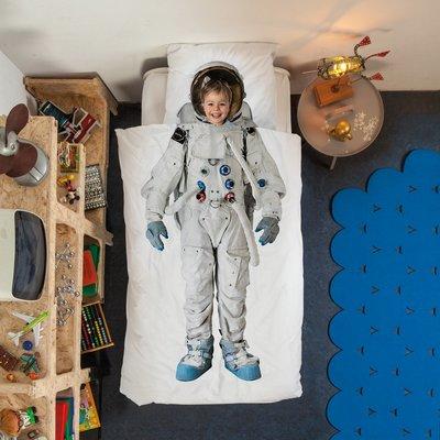 Snurk Astronaut dekbedovertrek junior 120x150