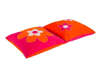 Hoppekids Flower power 50x50 kussen set