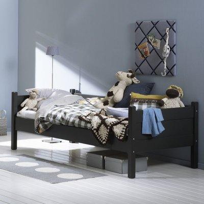 Alta 5010 bedbank 90x200 grenen + mdf antraciet