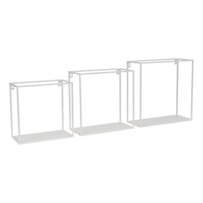 Kidsdepot Wall box set van 3 white
