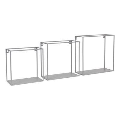 Kidsdepot Wall box set van 3 grey
