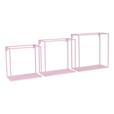 Kidsdepot Wall box set van 3 pink