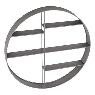 Kidsdepot Round shelf grey