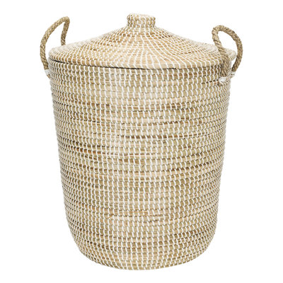 Kidsdepot Korf basket white/natural