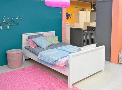 Bopita mix & match Twin twijfelaar bed 120x200 wit