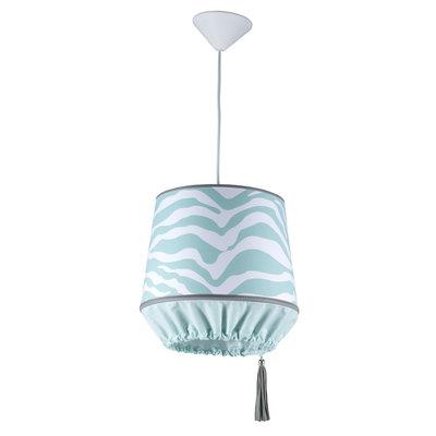 Kidsdepot zebra hanglamp seagreen