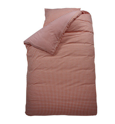 Bink bedding overtrek BB ruit oranje