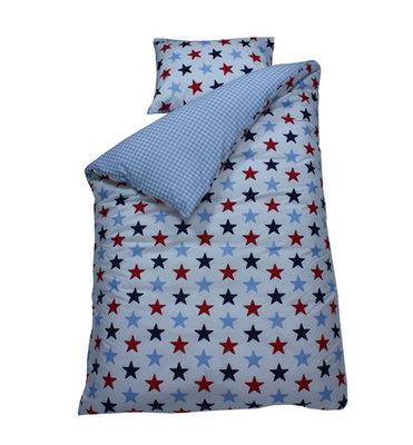 Bink bedding overtrek Ster navy
