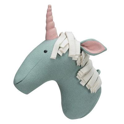 Kidsdepot Dierenkop unicorn