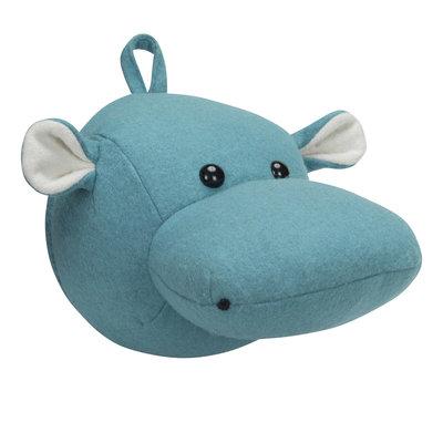 Kidsdepot Dierenkop Hippo blue