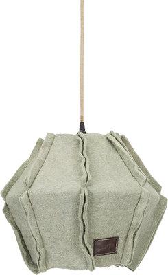 Stapelgoed Felt hanglamp seagreen