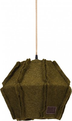 Stapelgoed Felt hanglamp army green