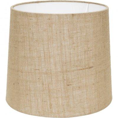 Stapelgoed lampenkap behorend bij vloerlamp oud hout nature