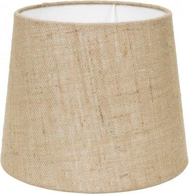 Stapelgoed lampenkap behorend bij tafellamp oud hout nature
