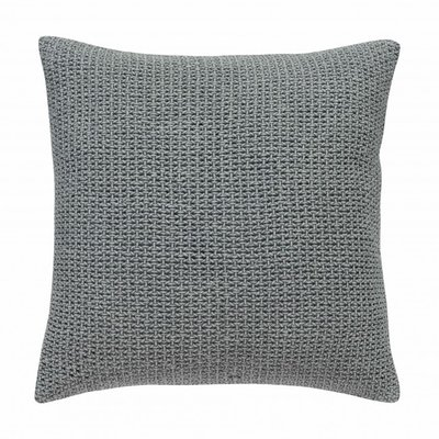 Stapelgoed kussen knitted grey