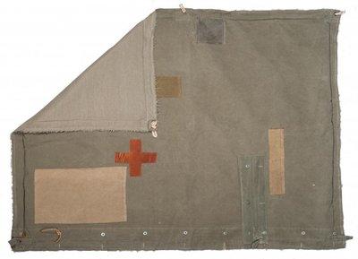 Stapelgoed army kamp plaid 150 x 150 cm