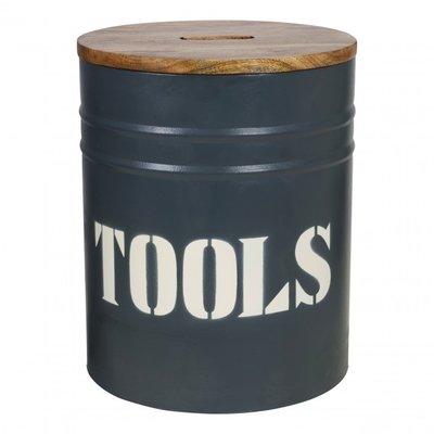 Stapelgoed storage oil bin tools grey