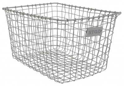 Stapelgoed basket large grey