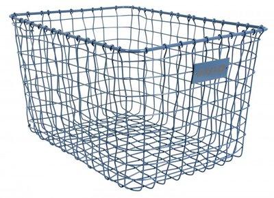 Stapelgoed basket large blue